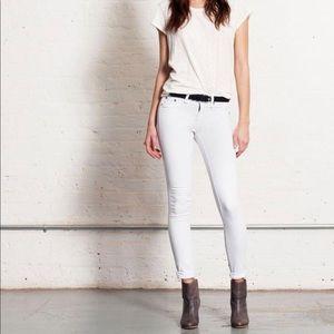 Rag & Bone bright white denim Jean pants leggings